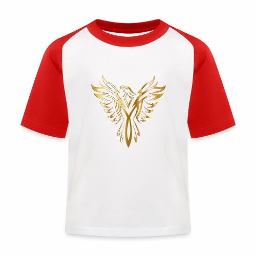 Złoty fenix - Koszulka bejsbolowa dziecięca