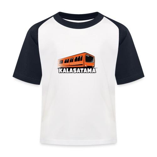 11- METRO KALASATAMA - HELSINKI - LAHJATUOTTEET - Lasten pesäpallo  -t-paita