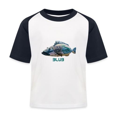 Fisch - Kinder Baseball T-Shirt