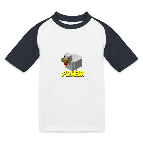 POw3r Baby - Maglietta da baseball per bambini
