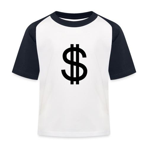 Dollar - Camiseta béisbol niño