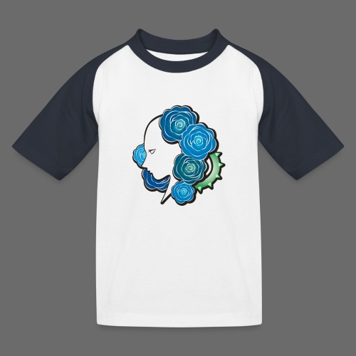 Rosa - T-shirt baseball Enfant