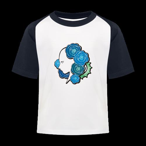 Rosa - T-shirt baseball Enfant