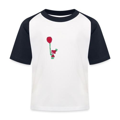 erdbeermädchen - Kinder Baseball T-Shirt