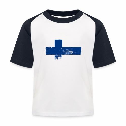 Suomen lippu, Finnish flag T-shirts 151 Products - Lasten pesäpallo  -t-paita