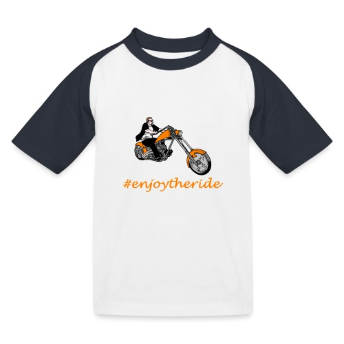 enjoytheride - T-shirt baseball Enfant