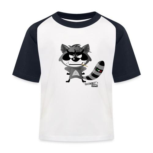 racconys gang al png - Kinder Baseball T-Shirt