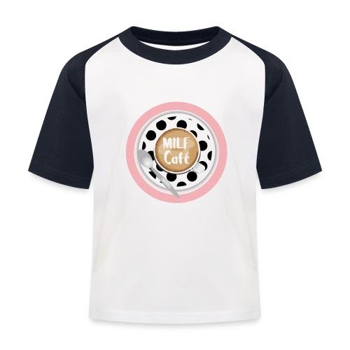 Milfcafé - MILF Logo Instagram Blogger Musthave - Kinder Baseball T-Shirt