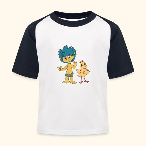 Plumps & Küken - Kinder Baseball T-Shirt