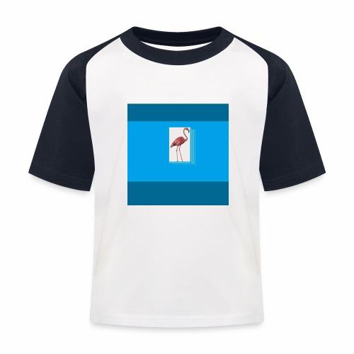 Flamingoscotteri - Maglietta da baseball per bambini