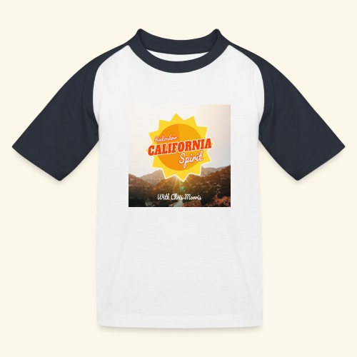 California Spirit Radioshow LA - T-shirt baseball Enfant