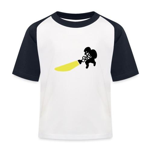 Dieb - Kinder Baseball T-Shirt