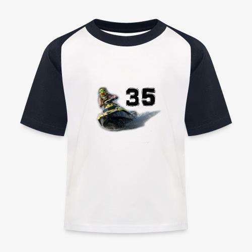 jetski35 - Lasten pesäpallo  -t-paita