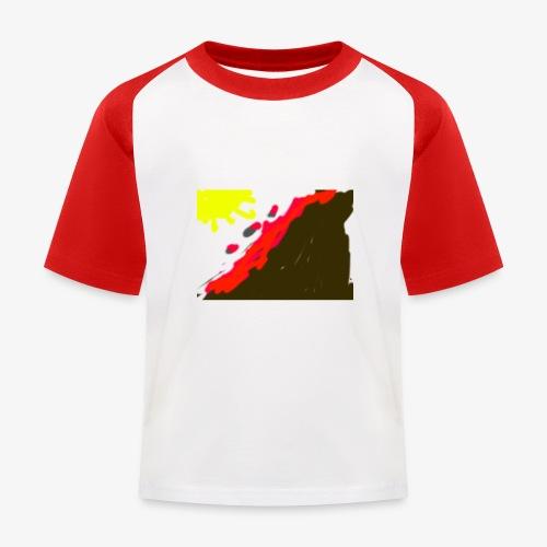 flowers - Baseball T-shirt til børn