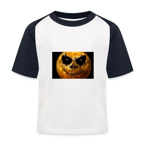 Halloween Mond Shadow Gamer Limited Edition - Kinder Baseball T-Shirt