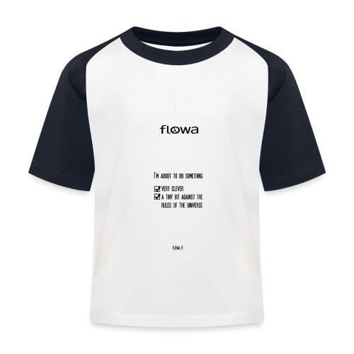 Flowa - Lasten pesäpallo  -t-paita