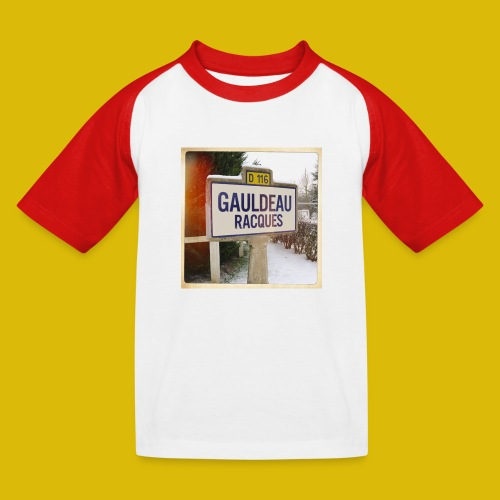 Gogoldorak - T-shirt baseball Enfant