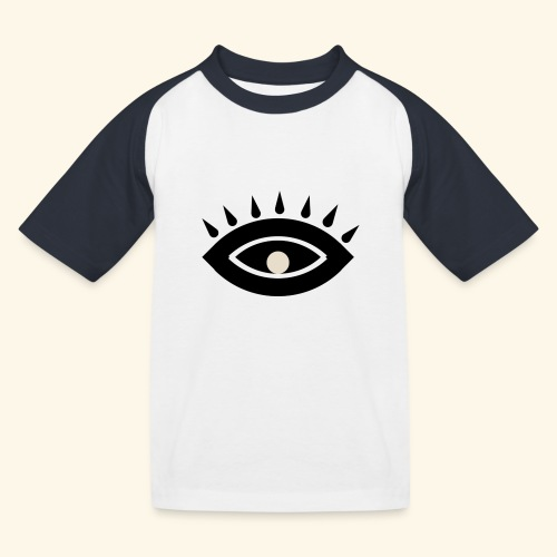 third eye - Baseboll-T-shirt barn