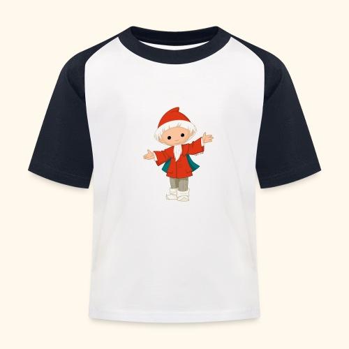 Sandmännchen Hallo! - Kinder Baseball T-Shirt