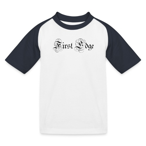 Untitled png - Kids' Baseball T-Shirt