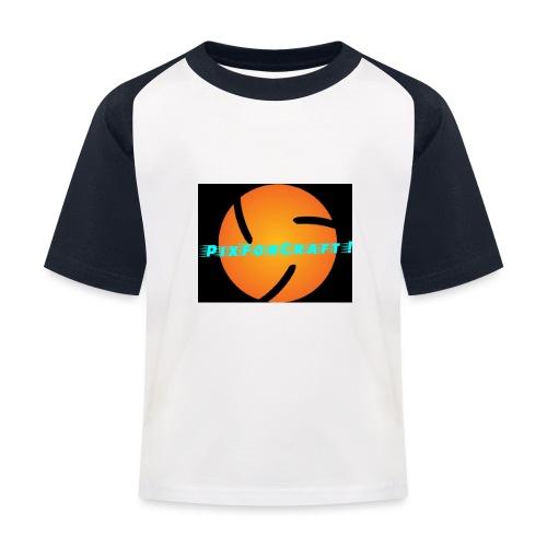 LOGO PixForCraft (Le logo de Juin 2017) - T-shirt baseball Enfant