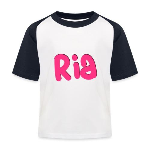 Ria Roo 3D - Kids' Baseball T-Shirt