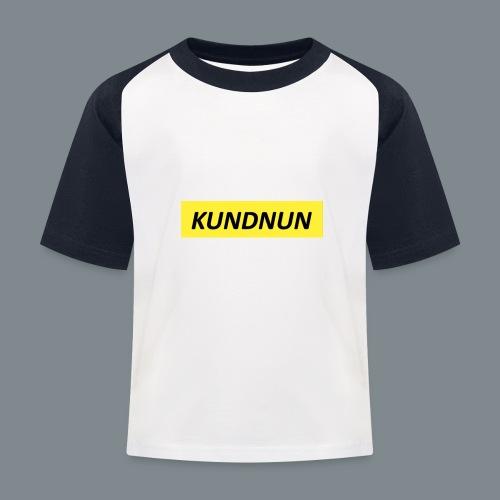 Kundnun official - Kinderen baseball T-shirt
