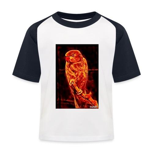 Bird in flames - Lasten pesäpallo  -t-paita