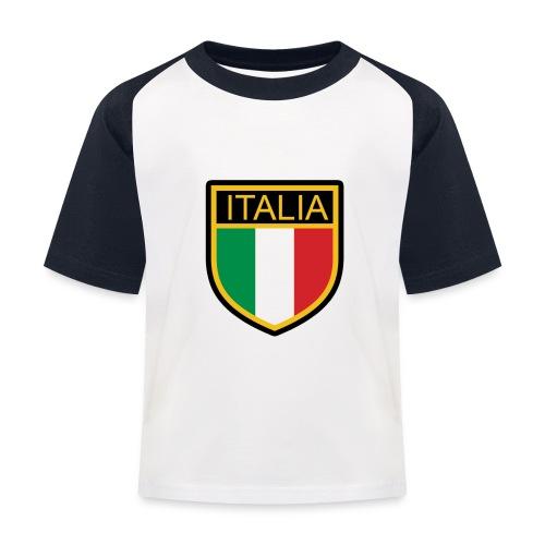 SCUDETTO ITALIA CALCIO - Maglietta da baseball per bambini