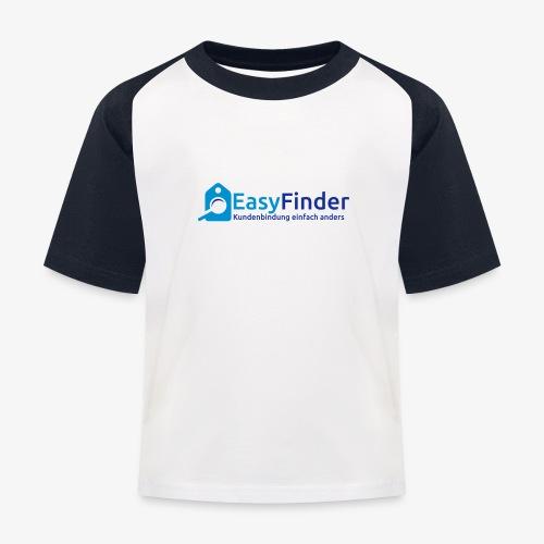 EasyFinder - Kinder Baseball T-Shirt