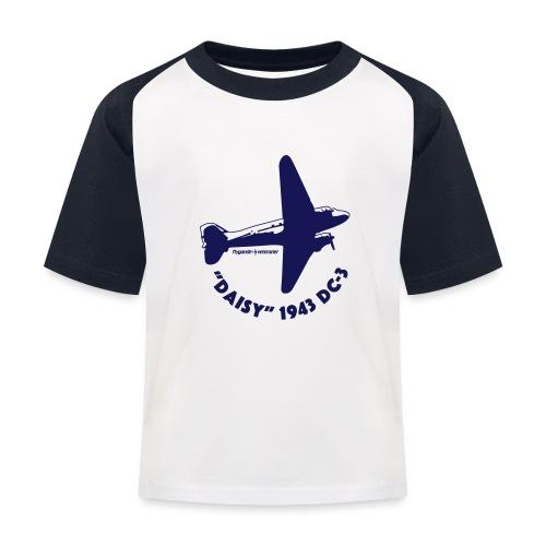 Daisy Flyover 1 - Baseboll-T-shirt barn