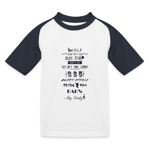 fun - T-shirt baseball Enfant