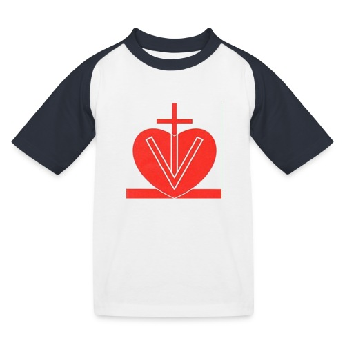 Visk stor - Baseboll-T-shirt barn