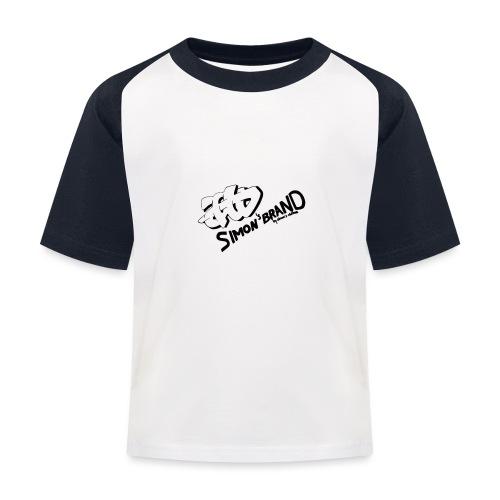 Simon's Brand - T-shirt baseball Enfant