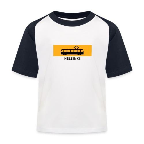 RATIKKA PYSÄKKI HELSINKI T-paidat ja lahjatuotteet - Lasten pesäpallo  -t-paita