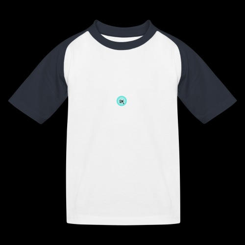 GekkeMennen LOgo - Kinderen baseball T-shirt