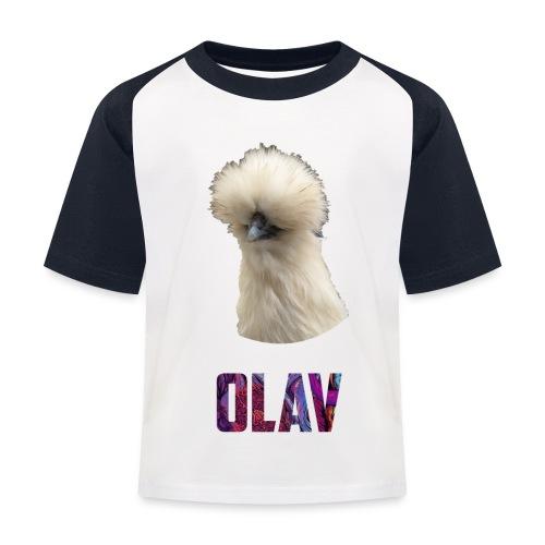 Olav 2 - Baseball-T-skjorte for barn
