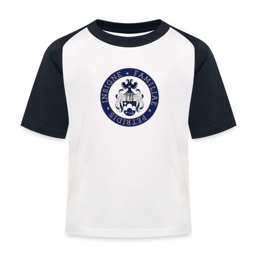 petridis wappen rundsatz- - Kinder Baseball T-Shirt