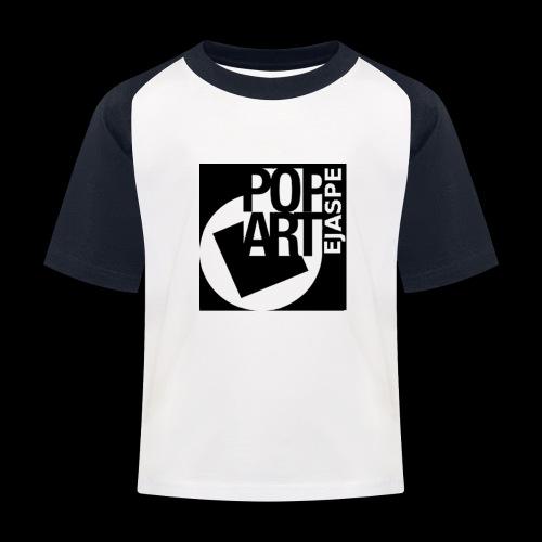 ejaspepopart - Camiseta béisbol niño