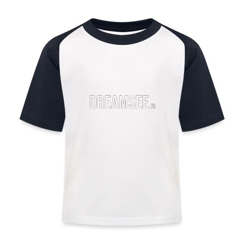 Dreamsee - T-shirt baseball Enfant