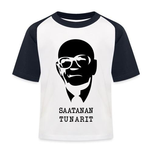 Kekkonen saatanan tunarit - Lasten pesäpallo  -t-paita