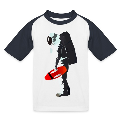Space Lifeguard - Kids' Baseball T-Shirt