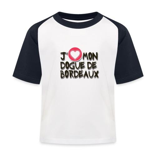 ilove01 - Kinder Baseball T-Shirt