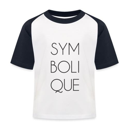 Symbolique - T-shirt baseball Enfant