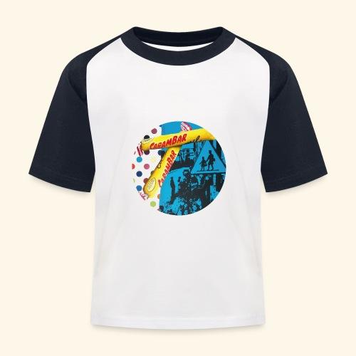 Carambar - T-shirt baseball Enfant