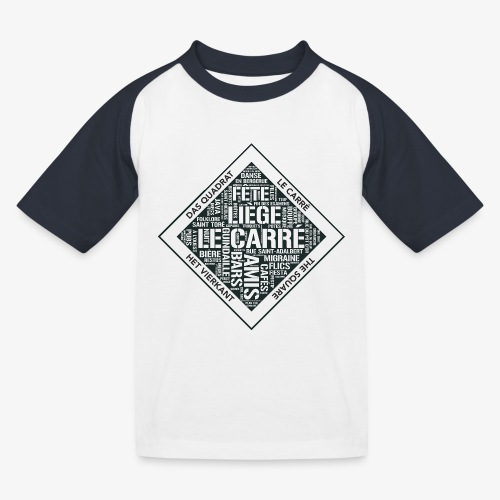 Le Carré - Liège - T-shirt baseball Enfant