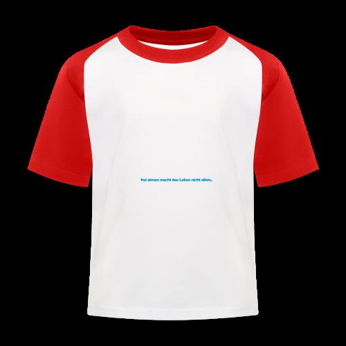 geweihbär Federleicht - Kinder Baseball T-Shirt