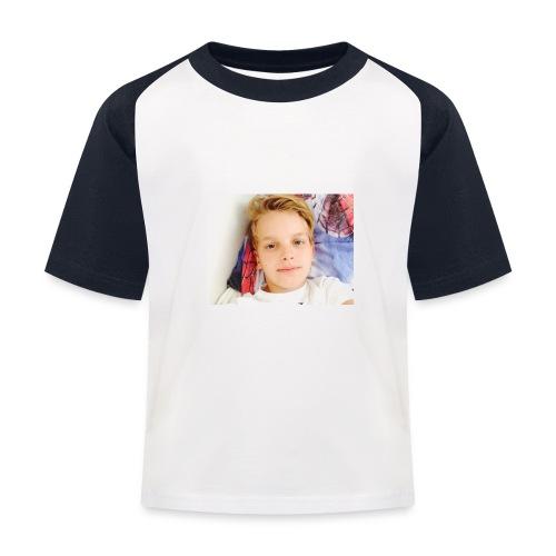 first design - Baseball T-shirt til børn