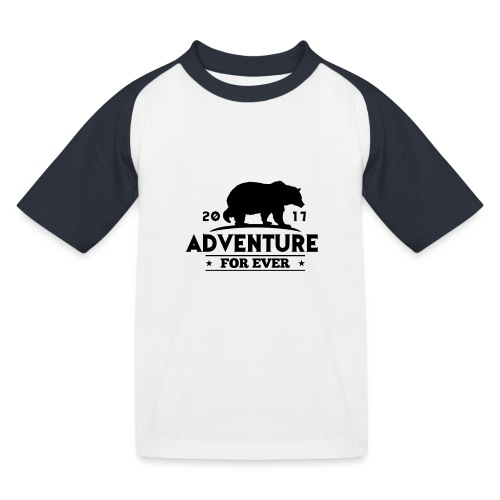 ADVENTURE FOR EVER - GRIZZLY - Maglietta da baseball per bambini