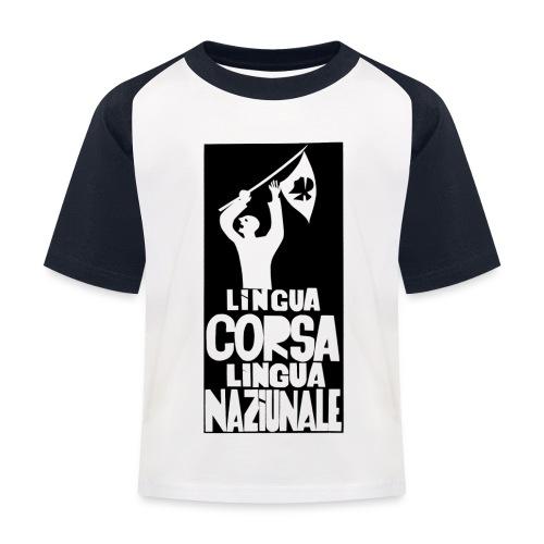 lingua corsa - T-shirt baseball Enfant